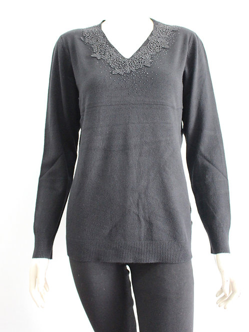 San Lodo Black* Sweater Style 93497