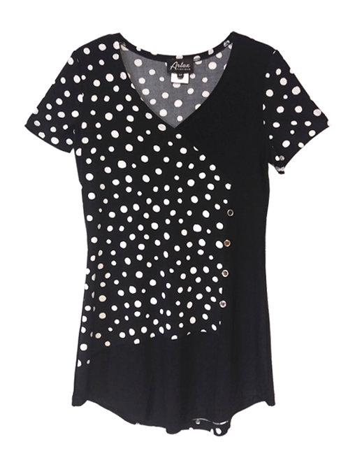 Artex Black/White Tunic #297571