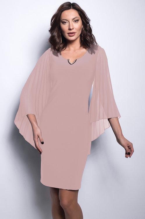 Frank Lyman Pearl/Pink Dress Style 209023