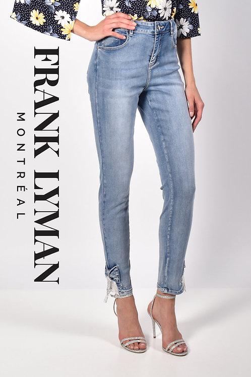 Frank Lyman Light Blue Jeans Style 216109u