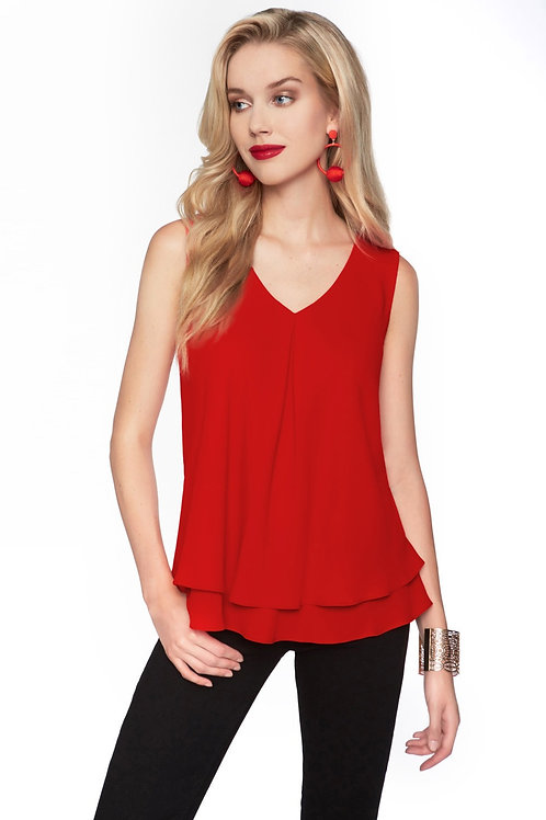Frank Lyman V Neck Top 10 Colors Available Style 61175