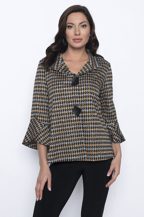 Frank Lyman Black/Dijon Jacket Style 203635