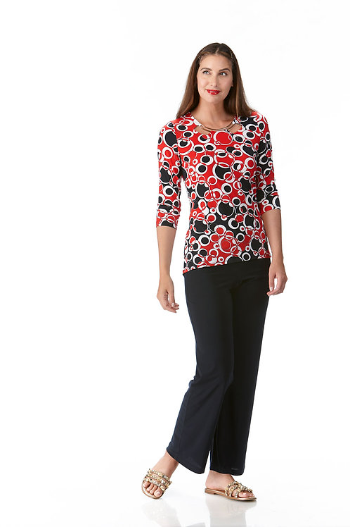 Crystal Red/Navy/White Top Style 10693