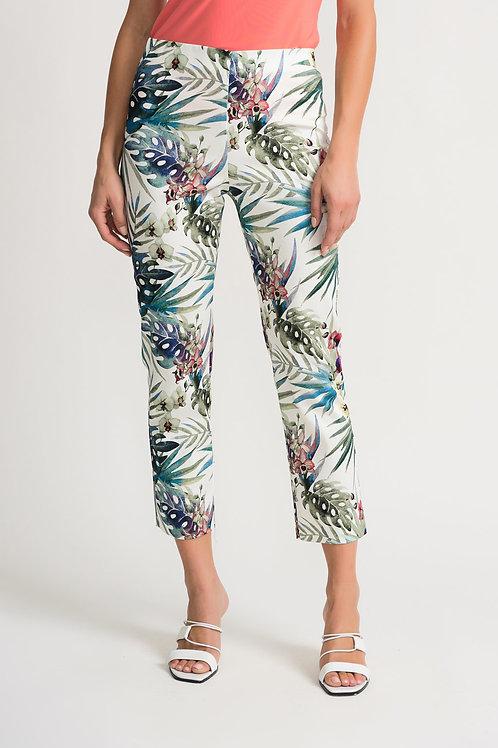 Pantalon 7/8 Blanc/Multi Joseph Ribkoff #202392