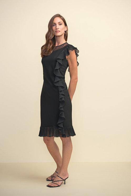 Joseph Ribkoff Black Dress Style 211476