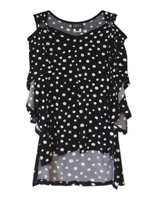 Artex Black/White Tunic #2971010
