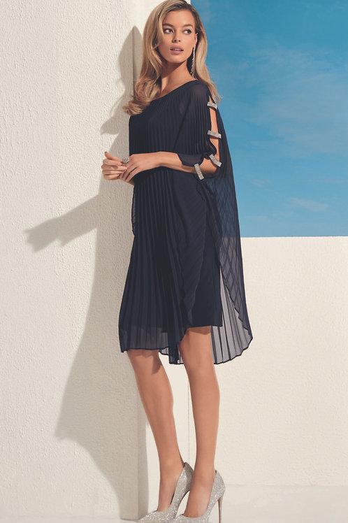 Frank Lyman Navy/Silver Dress #208226
