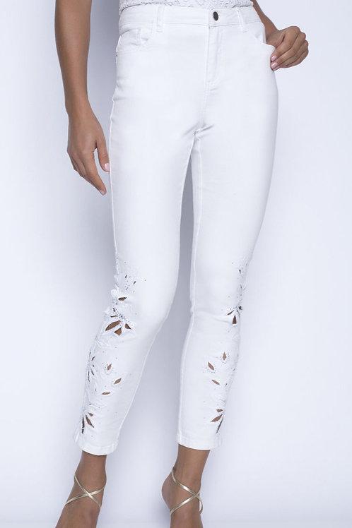 Frank Lyman Off White Jeans Style 201108U