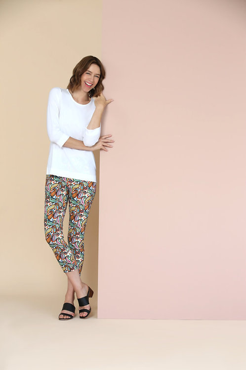 Lisette L Multi Paisley Capri Style 77502