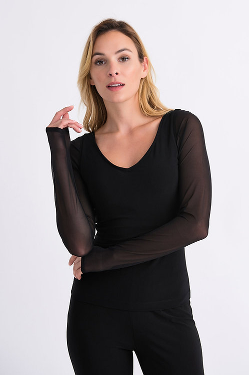 Joseph Ribkoff Shadow Sleeves Style 143430