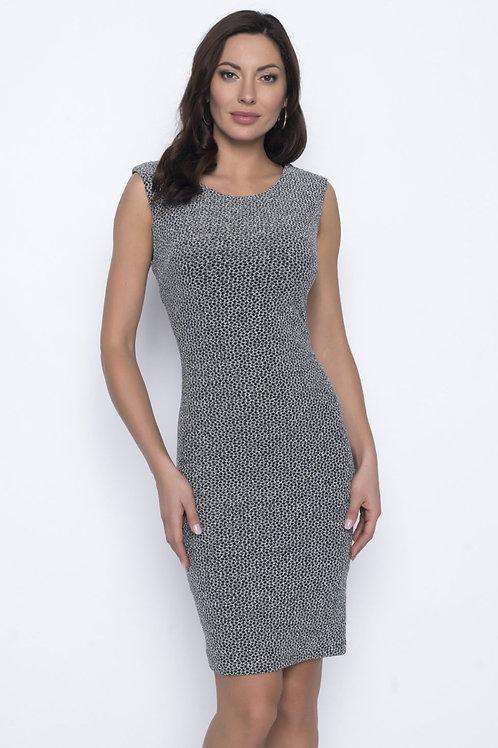 Frank Lyman Black/Silver Dress Style 203387