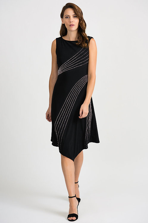 Joseph Ribkoff Black Dress #201124