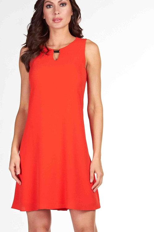 Frank Lyman Orange Dress #66713