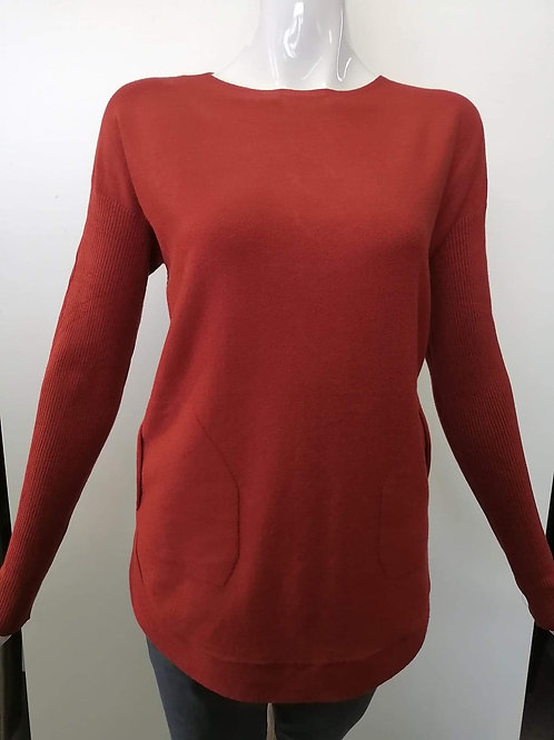 Charlie B Rust Sweater Style C2170R