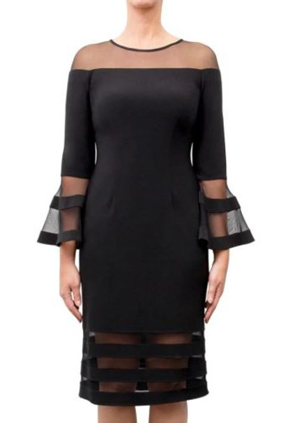 Joseph Ribkoff Black Dress #183417
