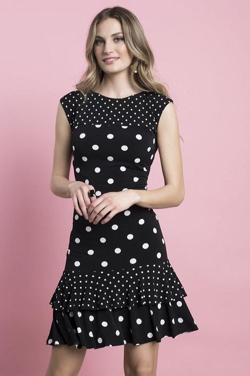 Frank Lyman Black/White Dress Style 216555