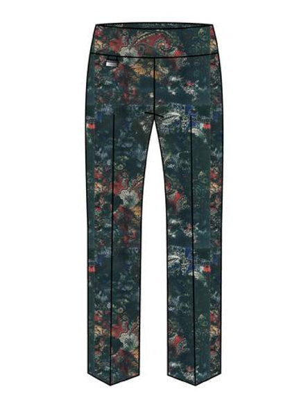 Lisette-L Mystic Floral Ankle Pant Style 67301