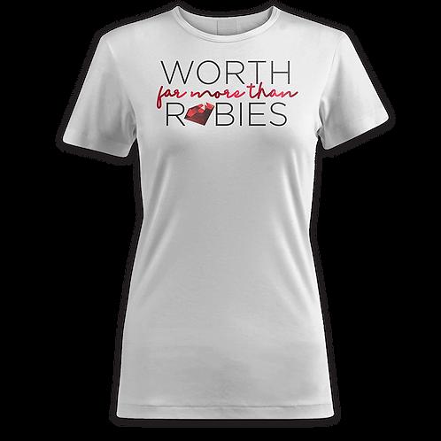 Worth Far More Than Rubies (White)