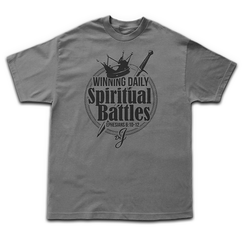 Winning Daily Spiritual Battles (Men's Gray)