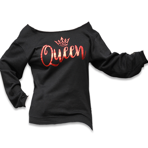 "Black ""Queen"" Sweatshirt"