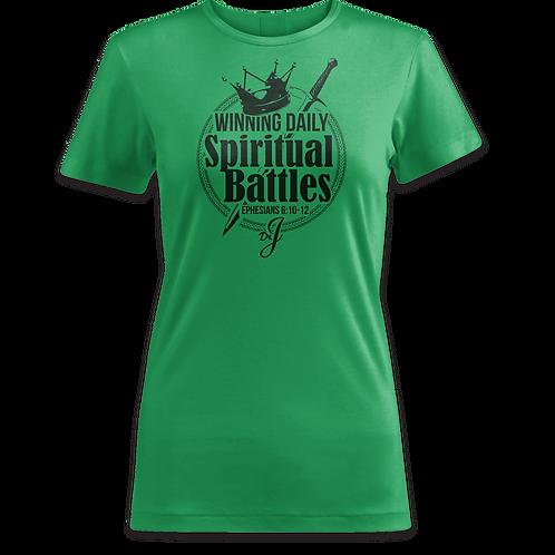Winning Spiritual Battles (Women's Green)