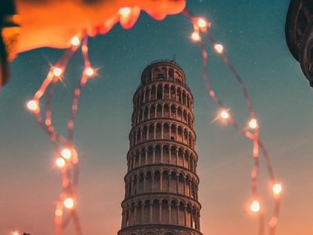 Pisa am Abend, das will ich!