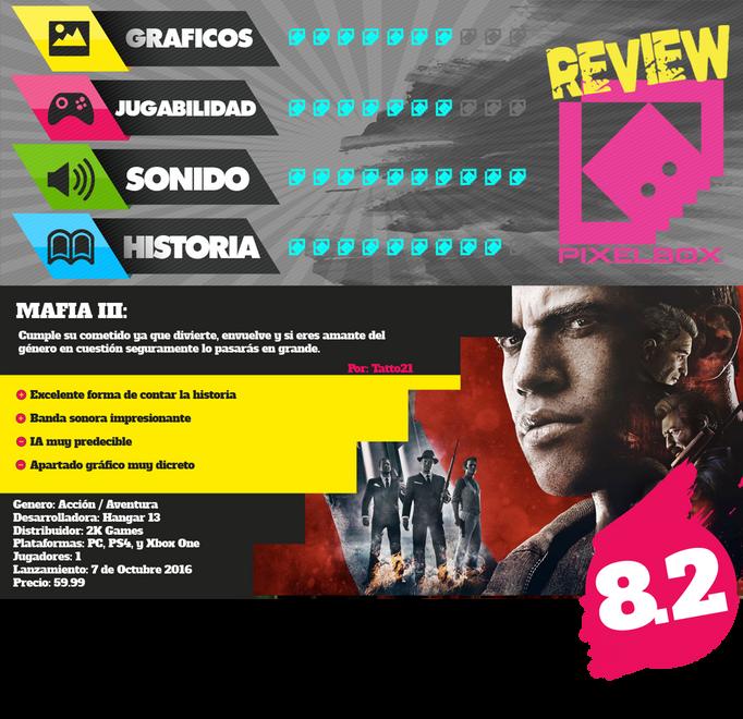 REVIEW: MAFIA III - XBOX ONE