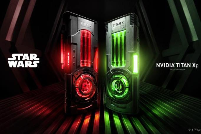 Nvidia presenta su tarjeta gráfica TITAN XP Edición Star Wars.