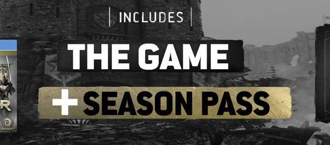 Ubisoft revela los detalles del season pass de FOR HONOR