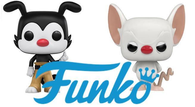 NARF! Funko anuncia los POP de  Animaniacs y Pinky y Cerebro