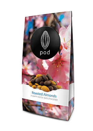 POD POUCHES - ROASTED ALMONDS 80g
