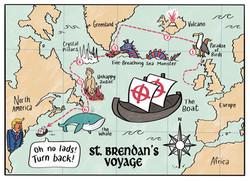 st brendan's voyage