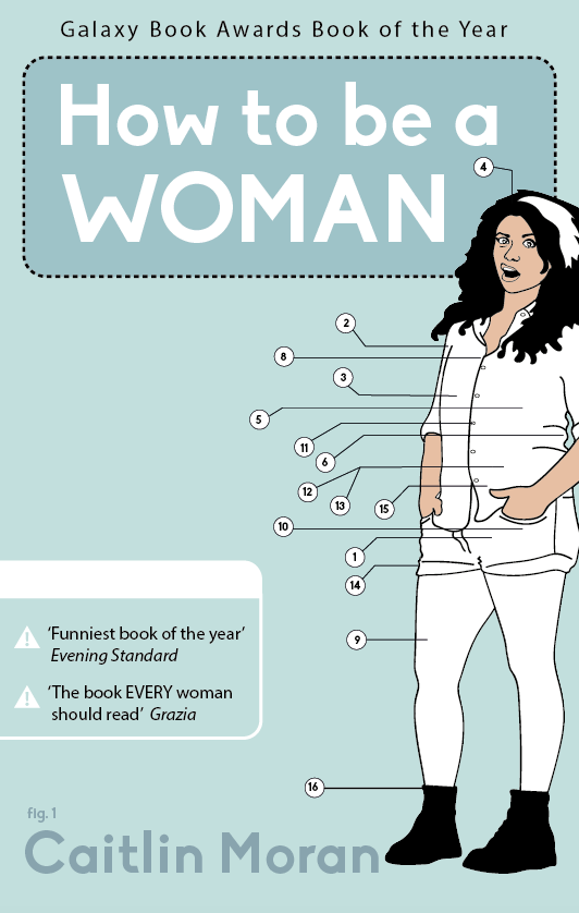 'How to be a Woman' book cover