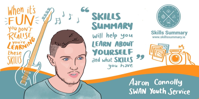 Aaron skills graphic recording