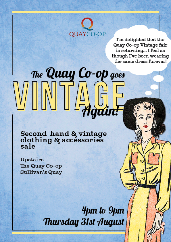 Quay co-op vintage fair
