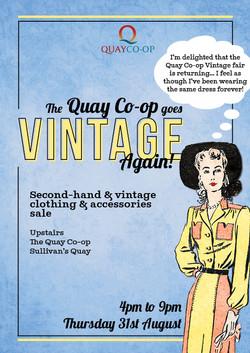 Quay co-op vintage fair