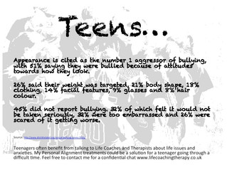 Teenagers - dealing with social pressures
