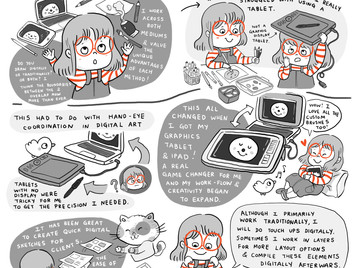 About Digital & Traditional Art