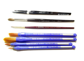 Favourite Watercolour and Gouache Brushes