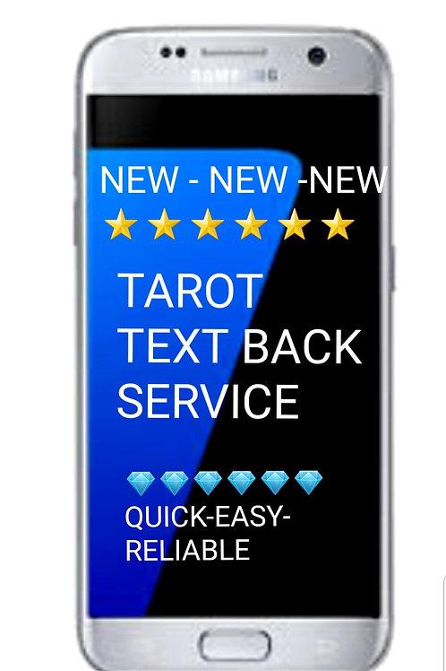Tarot Text - back Service