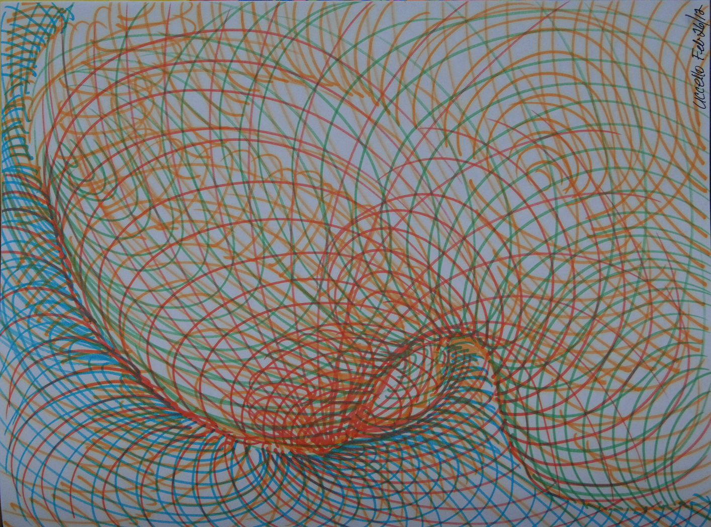 Energy Series 1/ Orange Blue