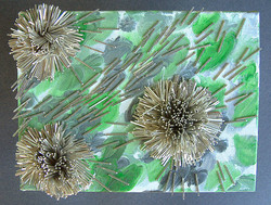 Green and Silver Symbiosis