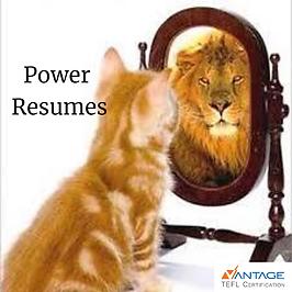 Vantage TEFL's Power Resume