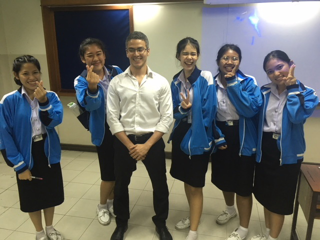 A Happy TEFL Class!