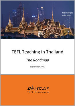 TEFL Teaching in Thailand Roadmap eBook