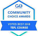 """Vantage was #1 worldwide as the """"Top TEFL Course"""" in the 2018 Community Choice Awards."""