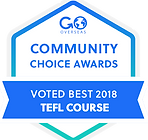 Awarded Best TEFL Course Worldwide