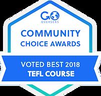 Awarded Best TEFL from GoOverseas.com