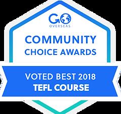 Awarded World's Top TEFL Program