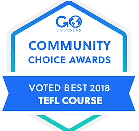 Awarded Best TEFL Course